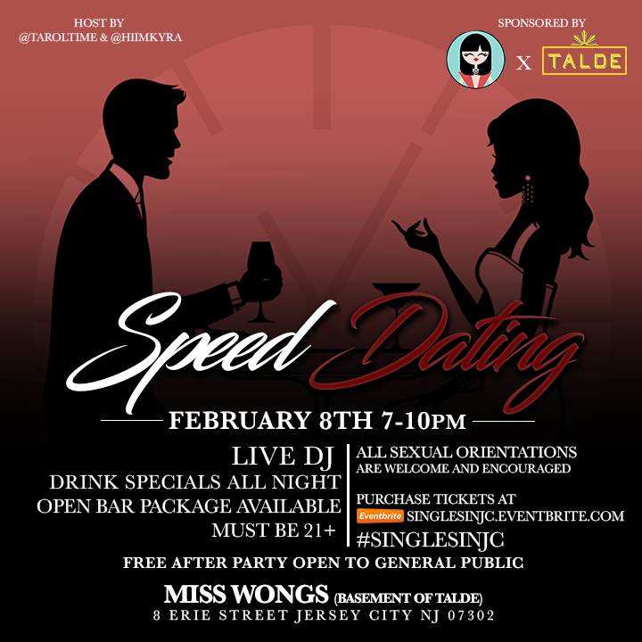 #SinglesinJC Speed Dating Mixer