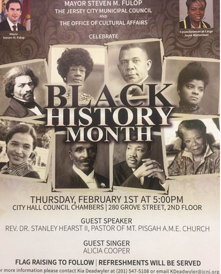 Black History Month In Jersey City