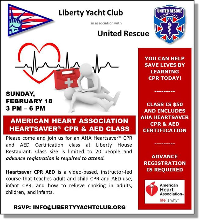 Heartsaver CPR & AED Certification Course - chicpeaJC