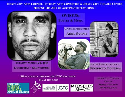 JCAC & JCTC present Artist Showcase: The Art of Acceptance featuring OVEOUS