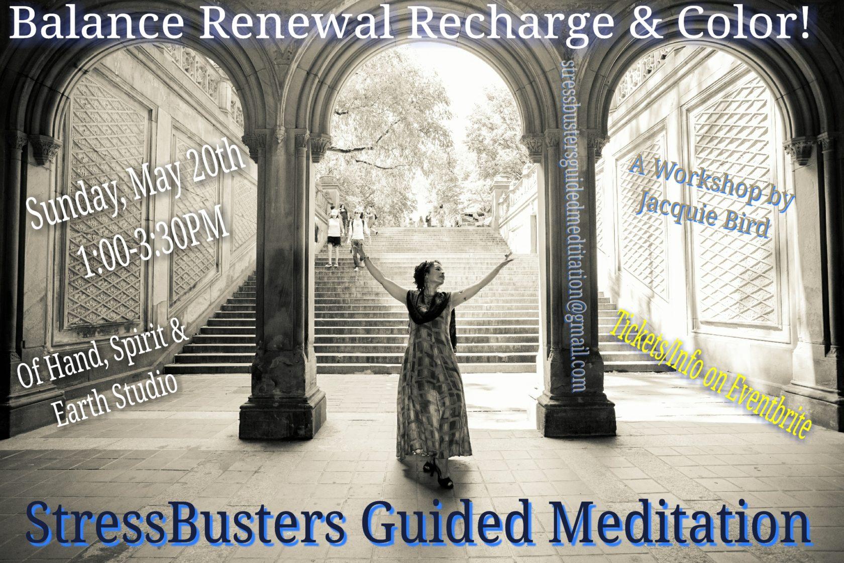 Balance Renewal Recharge & COLOR! A Workshop