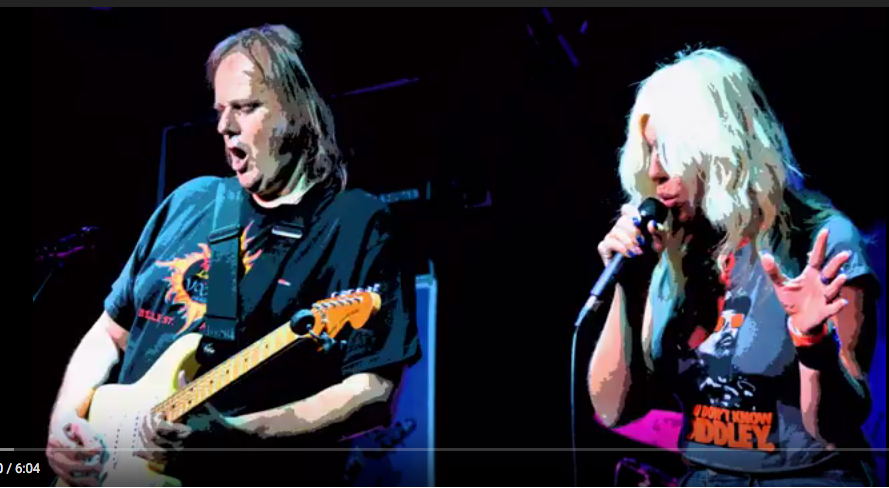 JC's ELIZA NEALS opening for LEGEND Walter Trout at BB Kings NYC