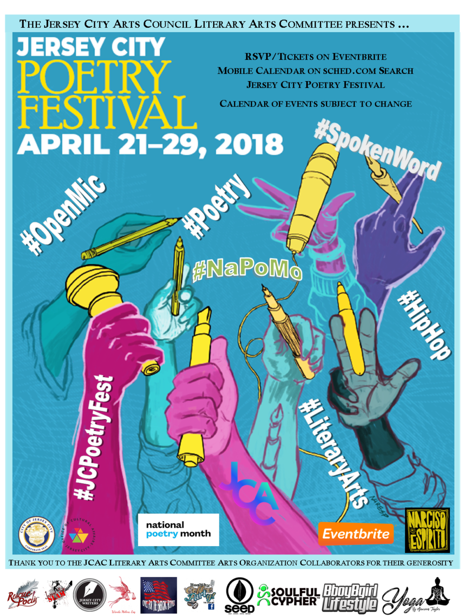 Jersey City Poetry Festival