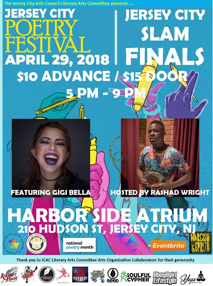 Jersey City Slam – Finals! and JCPoetryFest Finale