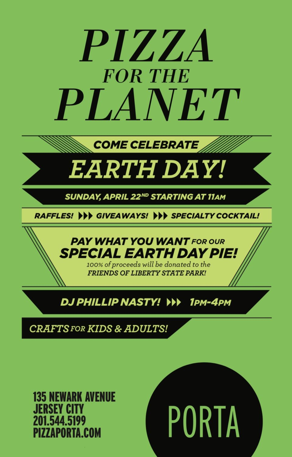 Earth Day at Porta!