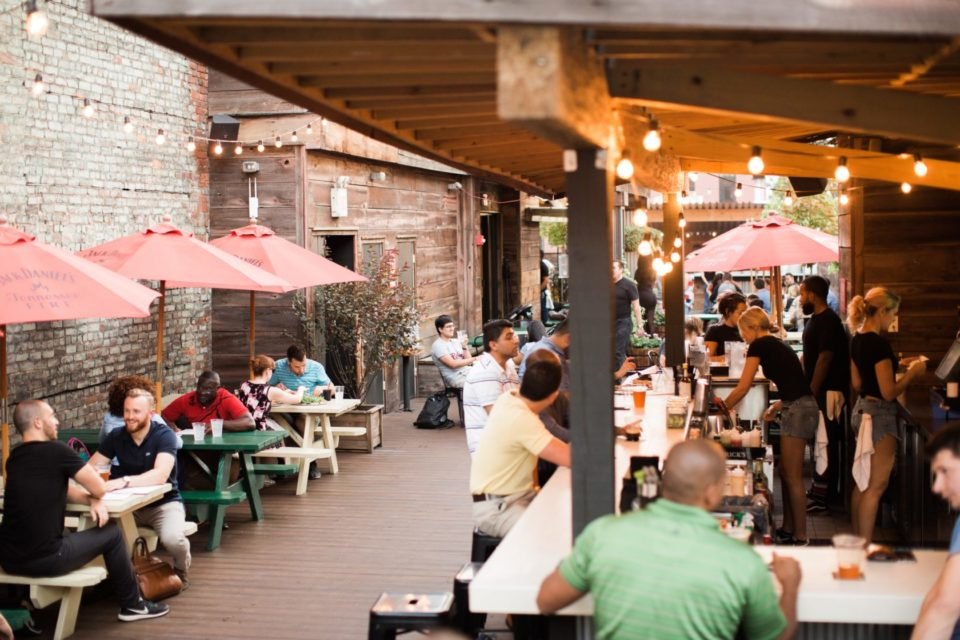5 Places in Downtown Jersey City for Outdoor Drinks