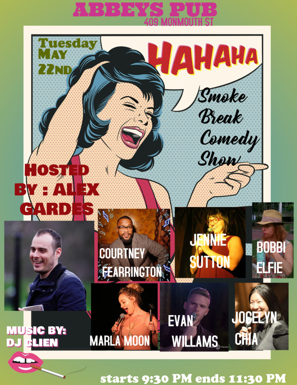 Smoke Break Comedy Show