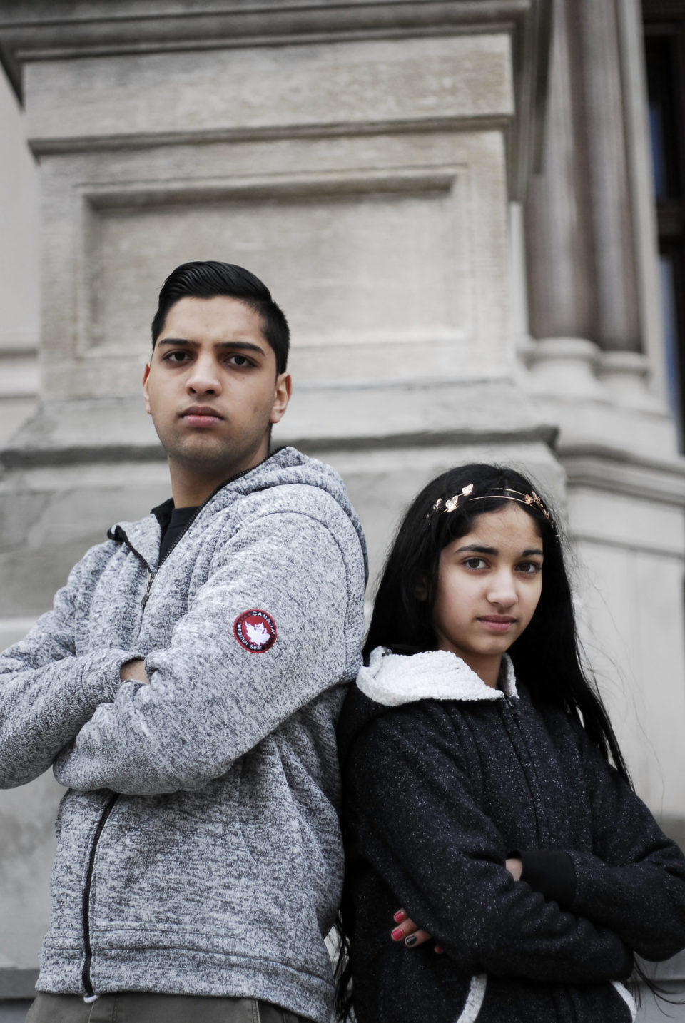 Jai and Maya of March For Our Lives