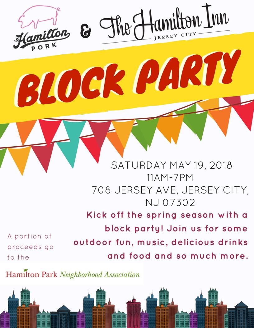 The Hamilton Inn and Hamilton Pork Block Party