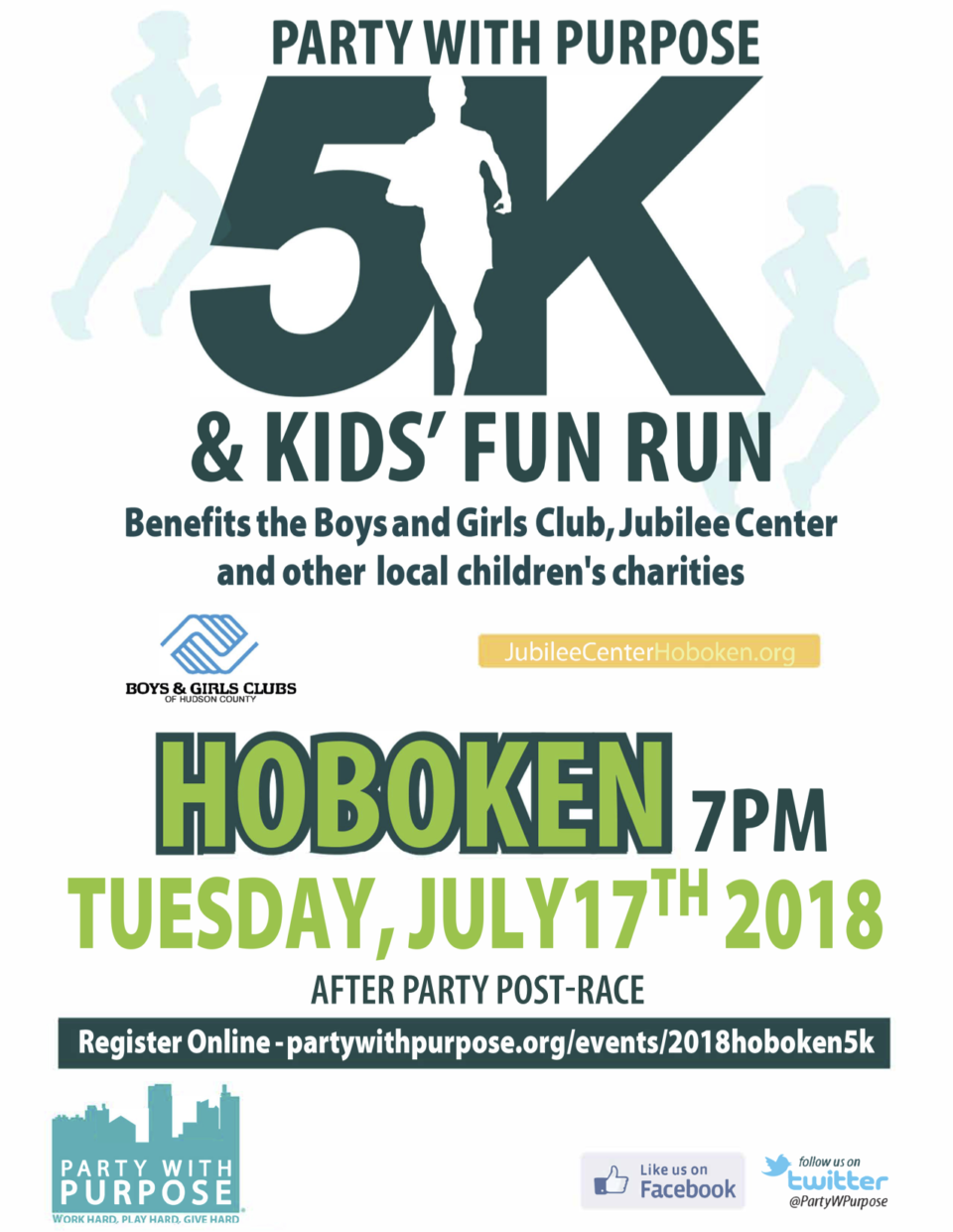 The Party With Purpose 5K in Hoboken