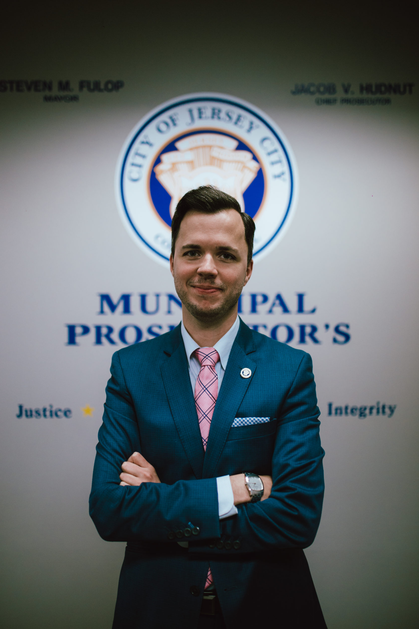 Jake Hudnut, Jersey City's Chief Prosecutor