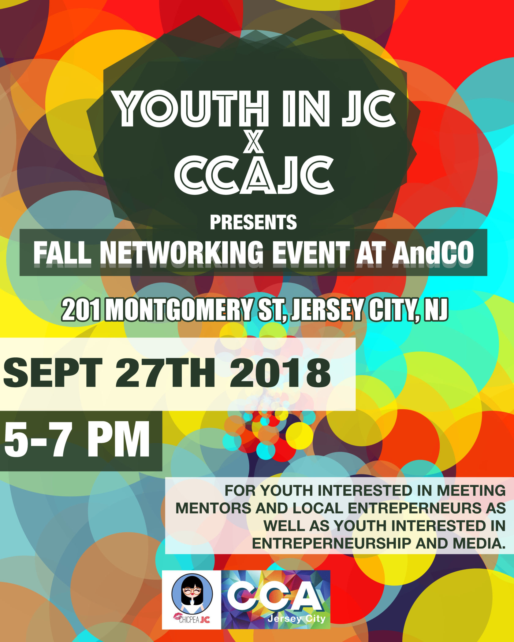 Youth in JC and CCAJC Present a Fall Youth Networking Event