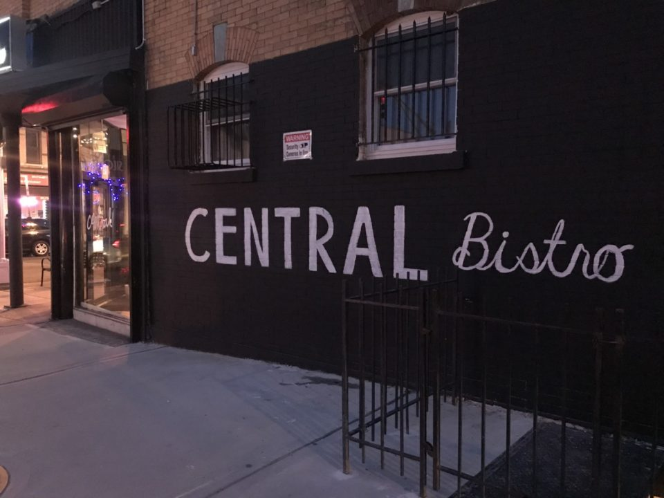 Central Bistro Restaurant on Central Ave.