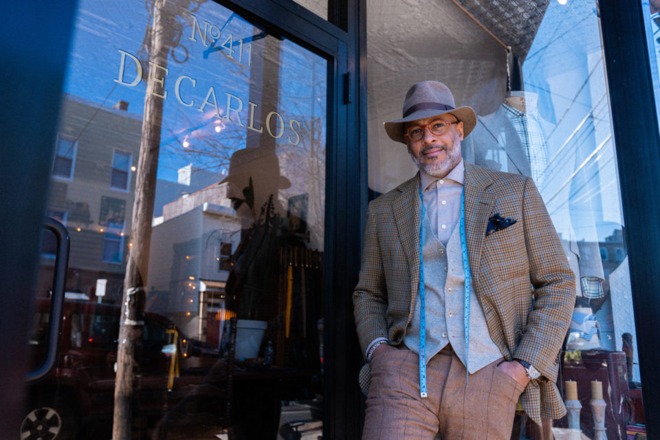 DeCarlos, Bespoke Tailor and Menswear Designer in Jersey City