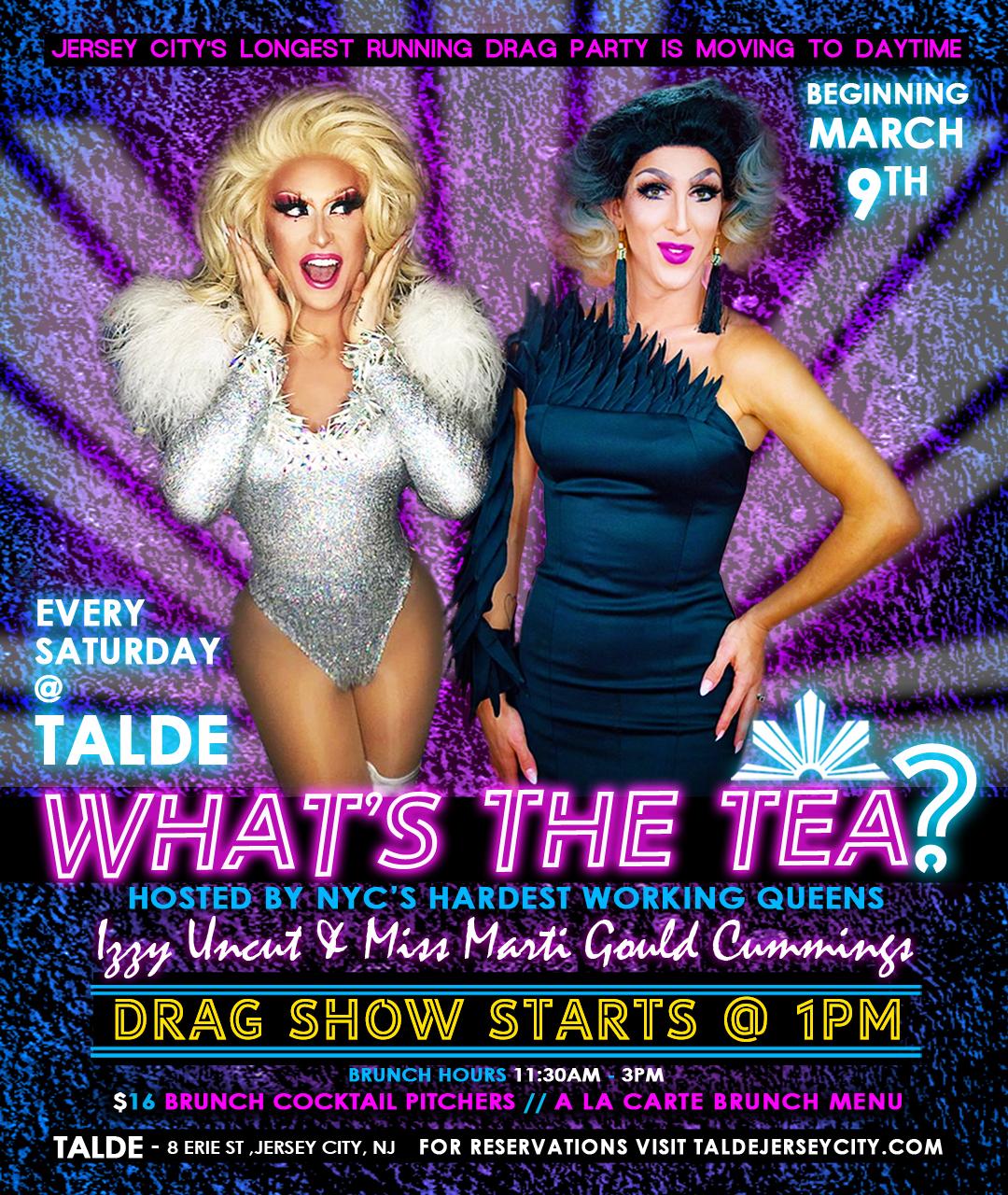 What's The Tea Brunch @ Talde