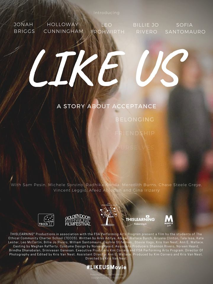 Like Us – A Film About Bullying Awareness and Prevention