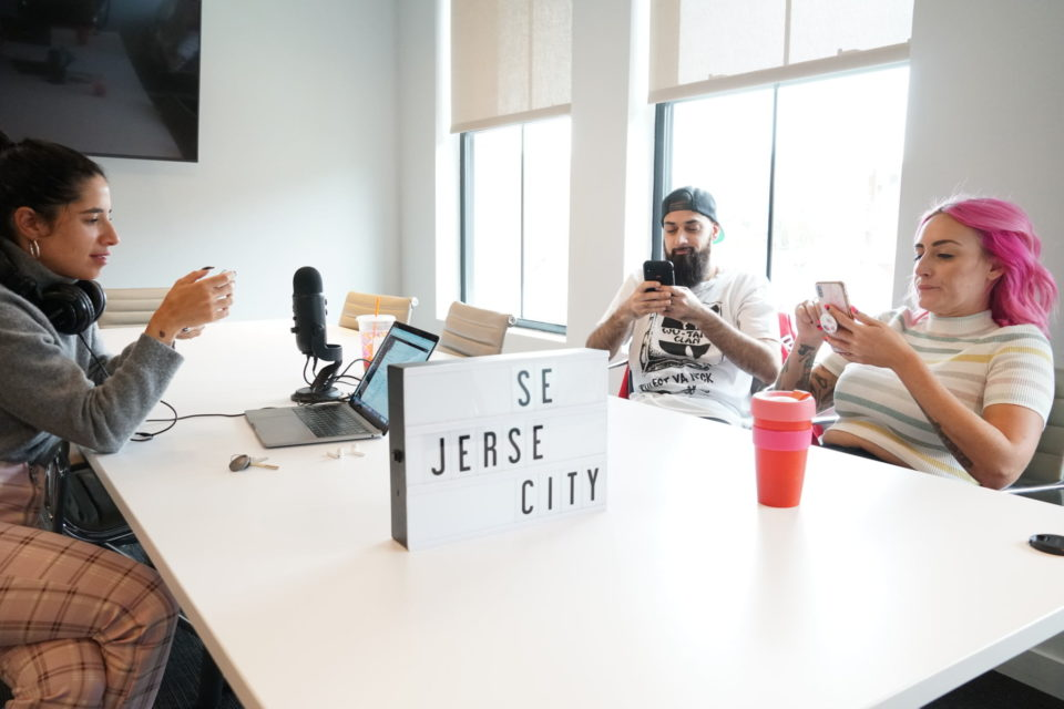 """Sex and Jersey City, The Podcast – Episode 12: """"It Goes Down in the DM"""""""