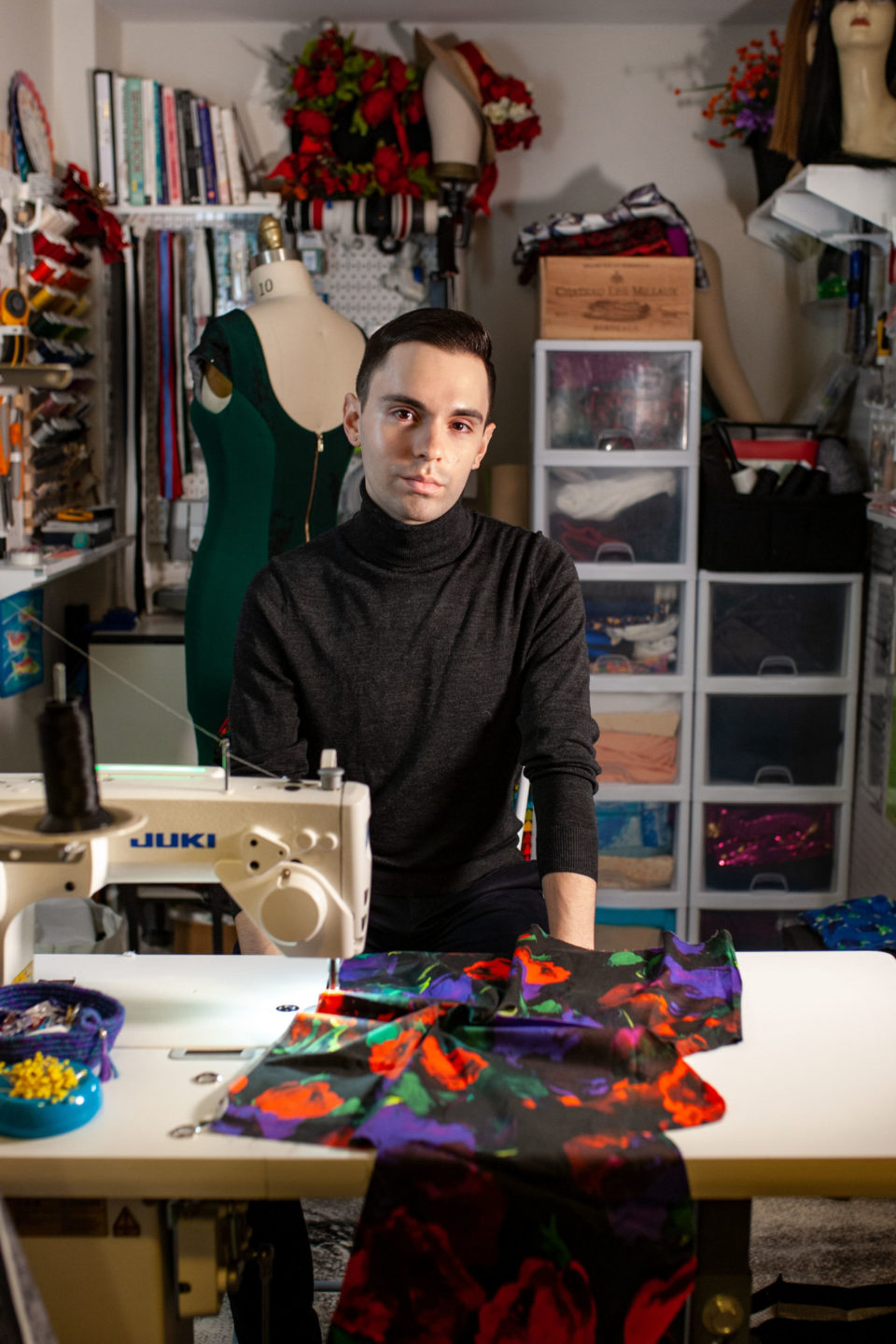 JC Resident Tyler Competes on Project Runway Season 18