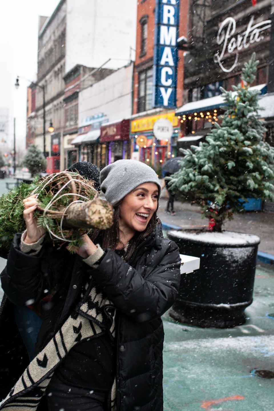 Where to get a Christmas tree in and around Jersey City