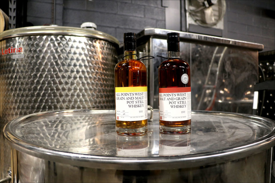 Newark Joins the Whiskey Trade: All Points West Distillery