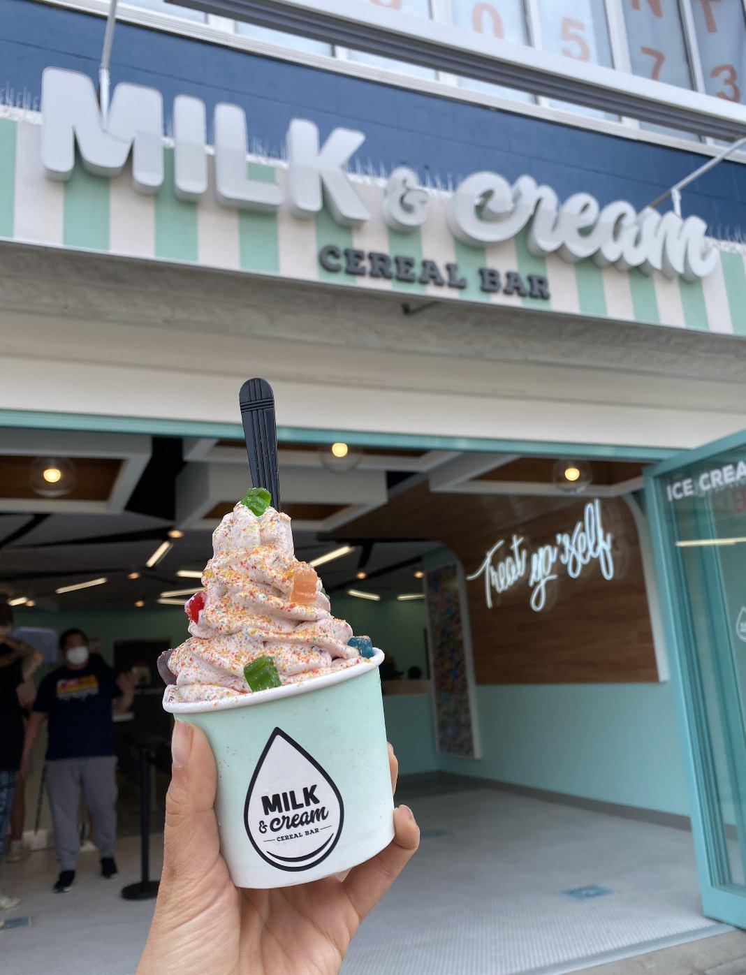Milk and Cream Bar Opened on Newark Ave!
