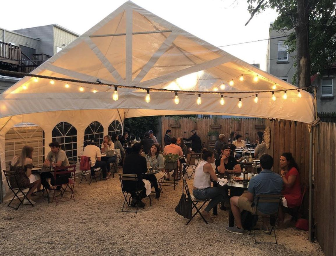 7 Spots For Outdoor Dining This Weekend