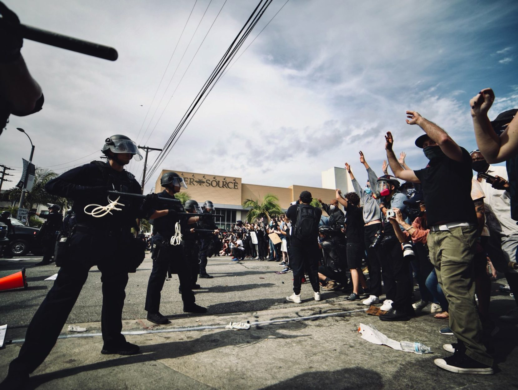Protests in the area –where to go and staying safe