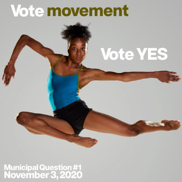 Voting for the Arts and Culture tax levy