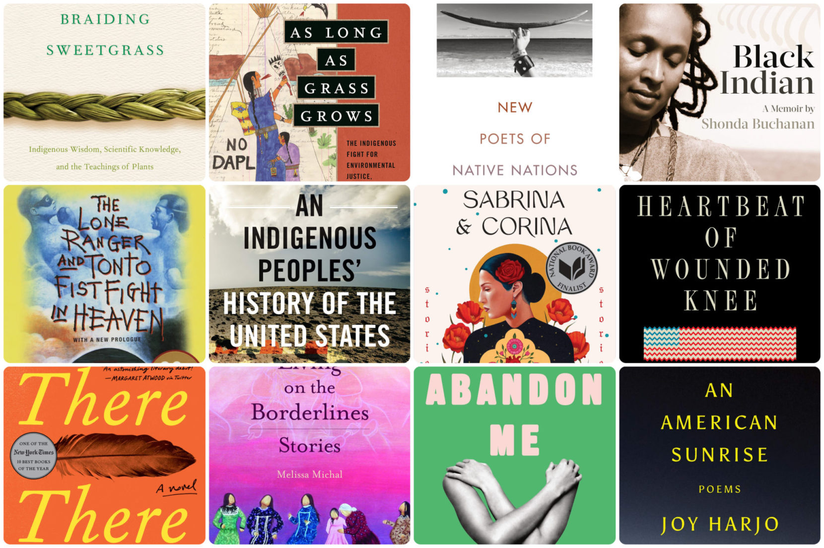Books that highlight Indigenous voices and experiences
